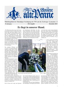 """Mitgliederzeitung """"Unsere Alte Penne"""""""