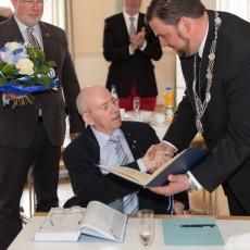 Ehrenbürgerwürde für Herbert Fritsche